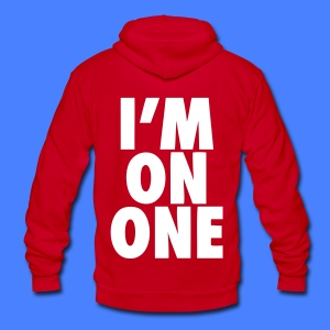 I'm On One Zip Hoodies/Jackets - stayflyclothing.com - Unisex Fleece Zip Hoodie by American Apparel