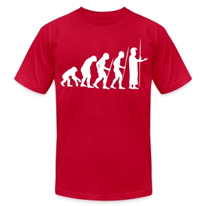 March of Kamehameha - Men's T-Shirt by American Apparel