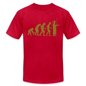 March of Kamehameha - Men's Fine Jersey T-Shirt