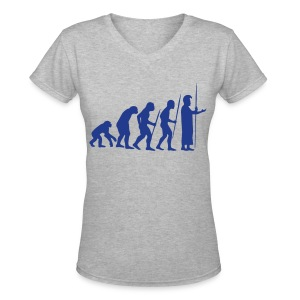 March of Kamehameha - Women's V-Neck T-Shirt