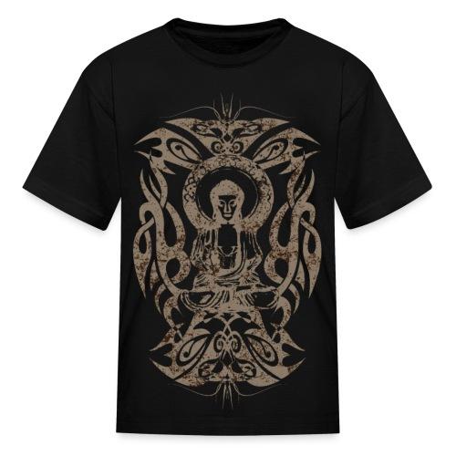 Tribal Buddha - Kids - Kids' T-Shirt