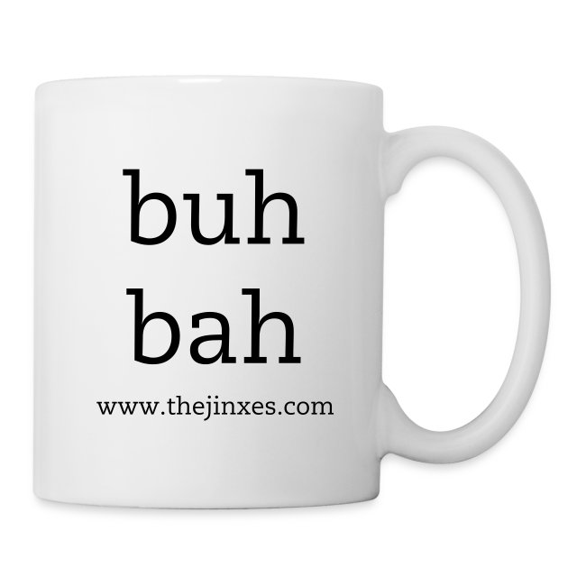 """Buh Bah"" 12 oz. Coffee/Tea Mug"