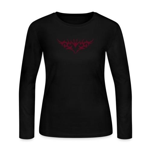 Angels Surround Her Longsleeve Shirt - Women's Long Sleeve Jersey T-Shirt
