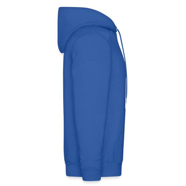 Alphacat Men's Hooded Sweatshirt - Royal Blue