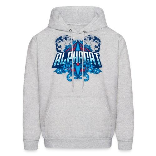 Alphacat Grey Hoodie - Men's Hoodie