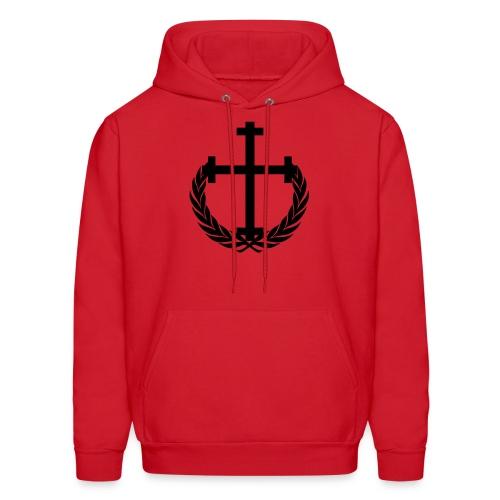 New Allegiance Cross hoodie - Men's Hoodie
