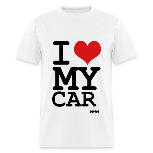 I love my car - Men's T-Shirt