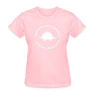 Women's T-Shirts ~ Women's T-Shirt ~ Dinosaurs Are Awesome (Women's)