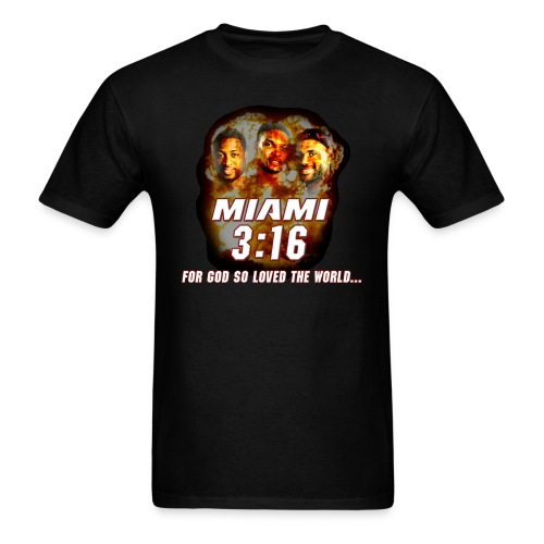 Miami 3:16 - Men's T-Shirt