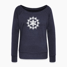 LOTUS OF THE HEART - Heart chakra - Anahata, c, Centre of love and compassion, powerful symbol Long Sleeve Shirts