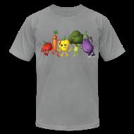 T-Shirts ~ Men's T-Shirt by American Apparel ~ Men's Veggie Rainbow T-Shirt