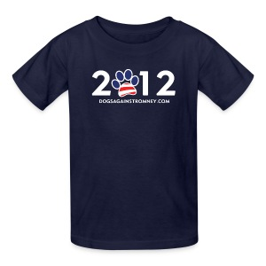 Official Dogs Against Romney 2012 Kid's T-Shirt - Kids' T-Shirt