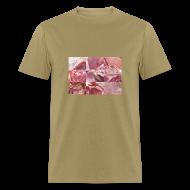 T-Shirts ~ Men's T-Shirt ~ Ham Grid Men's Standard Weight T-Shirt