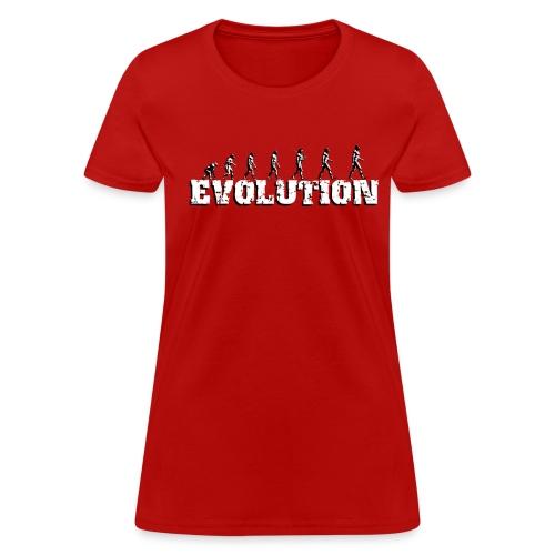 Evolution - Women's T-Shirt