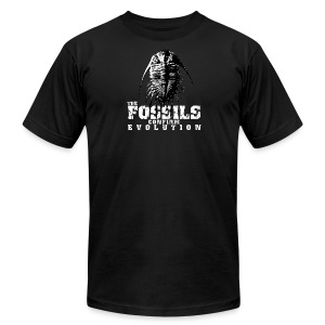 The Fossils confirm Evolution - Men's T-Shirt by American Apparel
