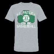 T-Shirts ~ Unisex Tri-Blend T-Shirt ~ ST. PATRICK-KYRIE IRVING THROWBACK