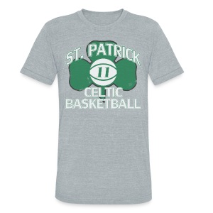 ST. PATRICK-KYRIE IRVING THROWBACK - Unisex Tri-Blend T-Shirt by American Apparel