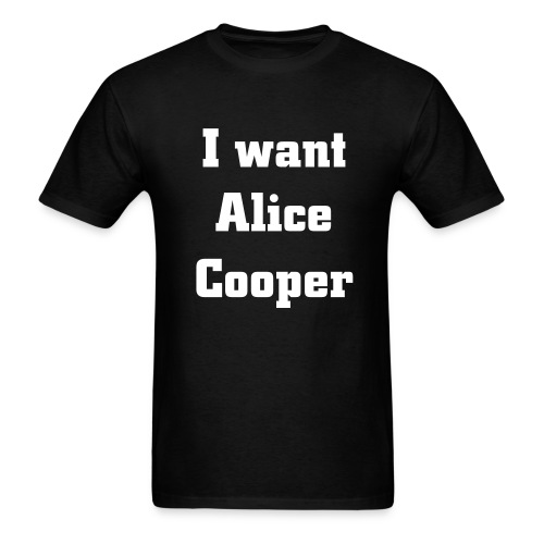 Men's T-Shirt - induct,Shop,Shirt,Hall of Fame,Alice Cooper