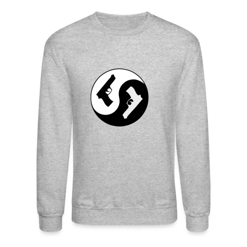 Don't Tread on Me/Yin Yang Long sleeve Shirt - Crewneck Sweatshirt
