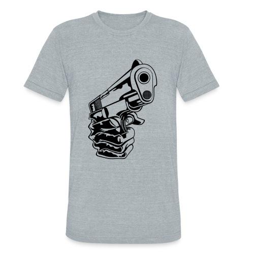 Handgun T-Shirt - Unisex Tri-Blend T-Shirt