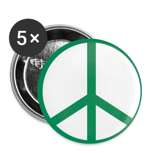 Green Peace Support - Small Buttons