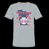 T-Shirts ~ Unisex Tri-Blend T-Shirt ~ MINNESOTA WORLD CHAMPS