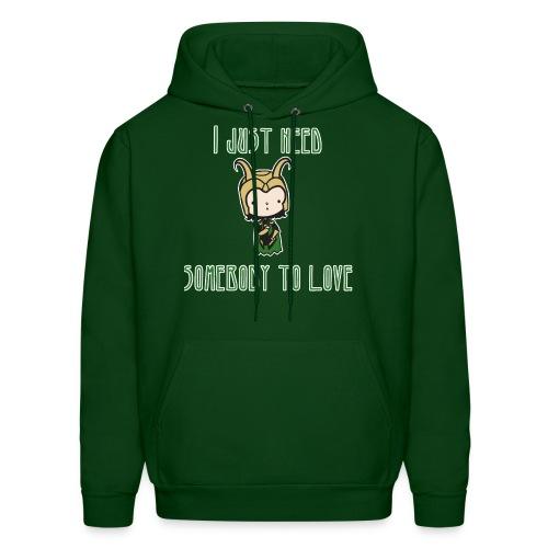 Loki wants love - Men's Hoodie