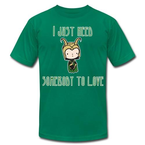 Loki wants love - Men's  Jersey T-Shirt