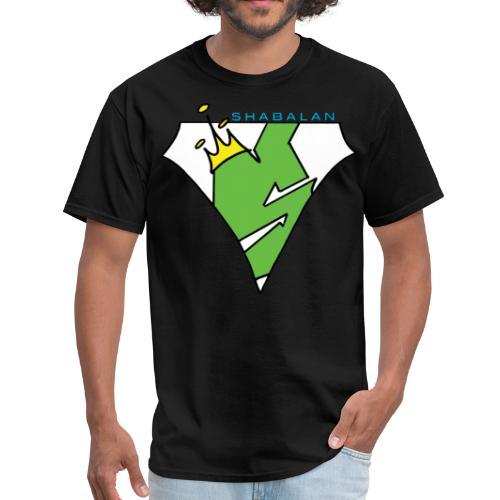 Shabalan's S with shabalan - Men's T-Shirt