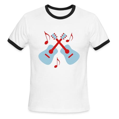 I Love Music!  - Men's Ringer T-Shirt