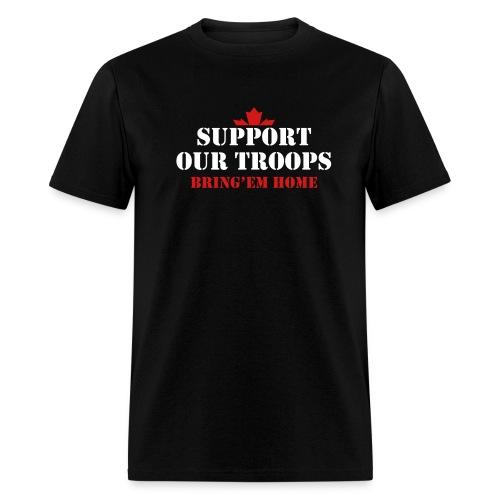 Support Our Troops Bring'em home  - Men's T-Shirt
