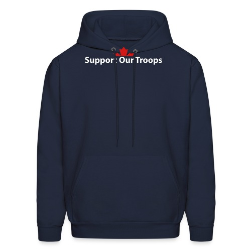 Support Our Troops - Men's Hoodie