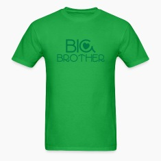 big brother in a beautiful brotherly Blue T-Shirts