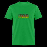T-Shirts ~ Men's T-Shirt ~ Proud Germany Flag, Proud to be German