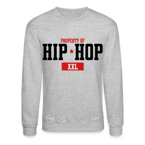 Property Of Hip-Hop  Long Sleeve Shirts - Crewneck Sweatshirt