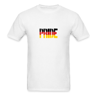 T-Shirts ~ Men's T-Shirt ~ PRIDE Germany Flag, Proud to be German