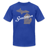 T-Shirts ~ Men's T-Shirt by American Apparel ~ Smitten