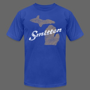 Smitten - Men's T-Shirt by American Apparel