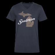 T-Shirts ~ Men's V-Neck T-Shirt by Canvas ~ Smitten