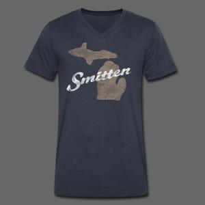 Smitten - Men's V-Neck T-Shirt by Canvas