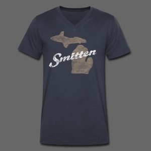 Smitten - Men's V-Neck T-Shirt by Canvas