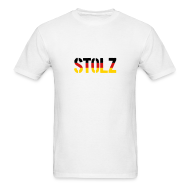 T-Shirts ~ Men's T-Shirt ~ Stolz Germany Flag, Proud to be German