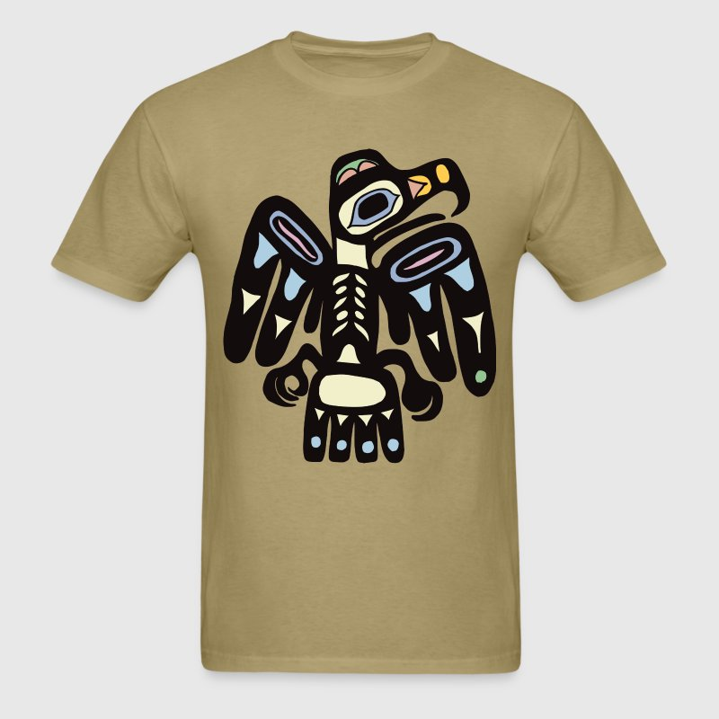 Mayan Bird T-Shirts - Men's T-Shirt