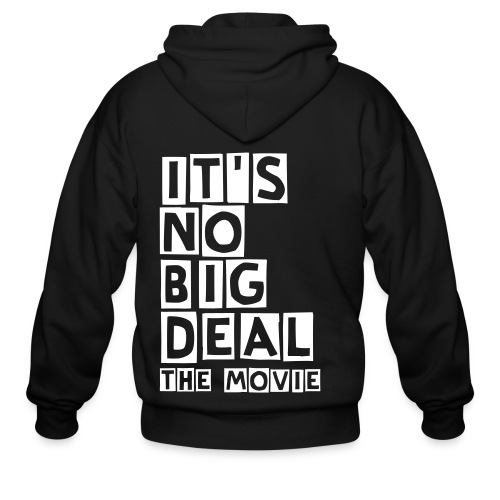It's No Big Deal The Movie - Zip Hoodie - Men's Zip Hoodie
