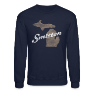 Long Sleeve Shirts ~ Crewneck Sweatshirt ~ Smitten