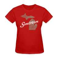 T-Shirts ~ Women's T-Shirt ~ Smitten