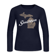 Long Sleeve Shirts ~ Women's Long Sleeve Jersey T-Shirt ~ Smitten