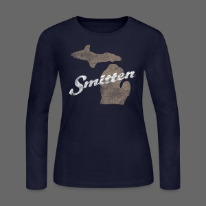 Smitten - Women's Long Sleeve Jersey T-Shirt