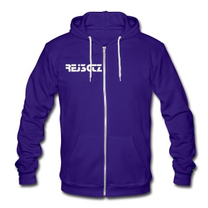 B*!CH I GO TO WORK MEN'S HOODIE - Unisex Fleece Zip Hoodie by American Apparel