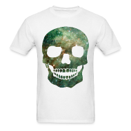 T-Shirts ~ Men's T-Shirt ~ COSMIC SKULL - MENS TSHIRT